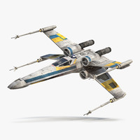 3ds max star wars x wing