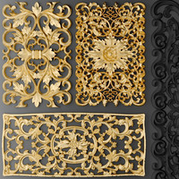 Fretwork SET 3D