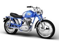 ducati 250 scrambler 1964 3d c4d