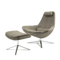 3d metropolitan armchair b italia model