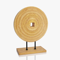 3d model wooden decoration
