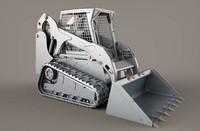3d bobcat t190 model