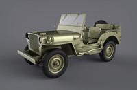 jeep willys obj