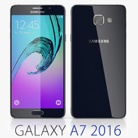 3d samsung galaxy a7 2016 model