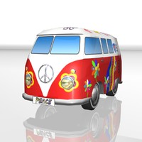 cartoon toy hippie-bus max