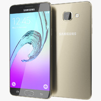 realistic samsung galaxy a5 3d model
