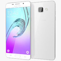 3d realistic samsung galaxy a5 model