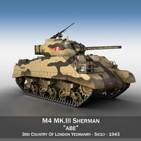 M4 Sherman MK.III - Abe