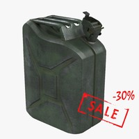 3d model jerrycan world