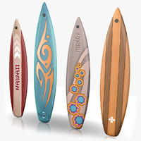 3d surfboards games model