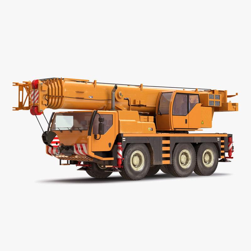 Compact Mobile Crane 3d model 00.jpg