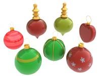 christmas decoration 3d 3ds