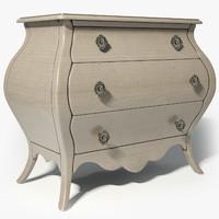 3d model hooker furniture chest sku:638-50179