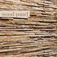 wood panel 3d obj