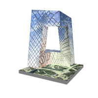 cctv headquarters 3d model