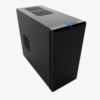 pc case fractal design 3d model