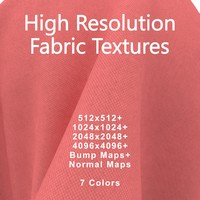 Fabric Texture Pack Red Seamless