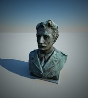 bust 3d max