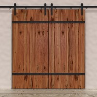 dogberry barn door hardware 3d max