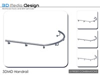 3d 3dmd handrail model