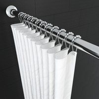 3d model shower curtain