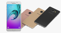3d smartphone samsung galaxy a7