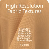 Fabric Texture Pack Orange Seamless