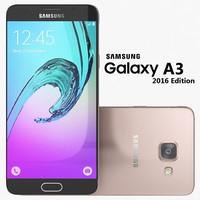 3d samsung galaxy a3 2016