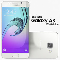 3d samsung galaxy a3 2016 model