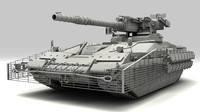 Sci-Fi Tank STRATOS m3