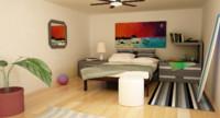Beach Room Interior