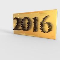 3d model 2016 blender print