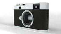 camera leica m edition 3d model