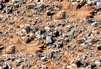 Sand with stones 13