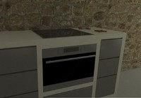 3dm built-in cooker