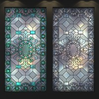 stained-glass frosted glass 3d model