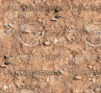 Sand with stones 34