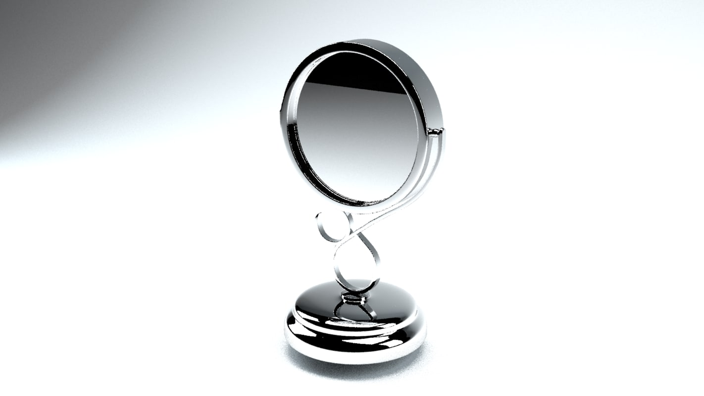 Free two way mirror 3d model for Two way mirror