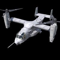 3d cv-22 osprey rig