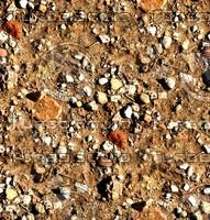 Sand with stones 36