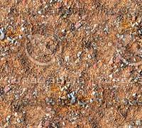 Sand with stones 35