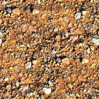 Sand with stones 45