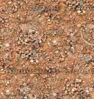 Sand with stones 40