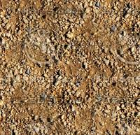 Sand with stones 37