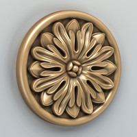 carved rosette max