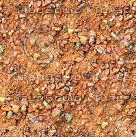 Sand with stones 48