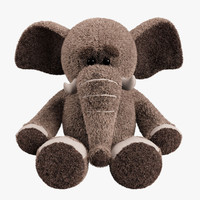 max plush toy elephant