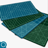cutting mat 3d model