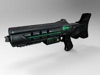 3d max futuristic weapons