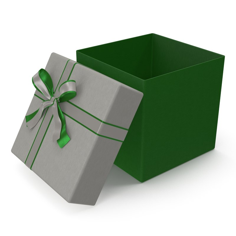 Giftbox Green 3d model 01.jpg